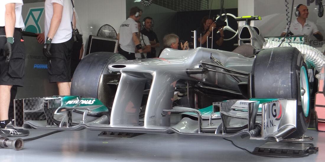 Mercedes - GP Malaysia - Training - 23. März 2012