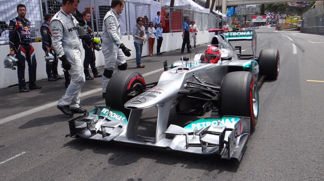 Mercedes GP Monaco 2012