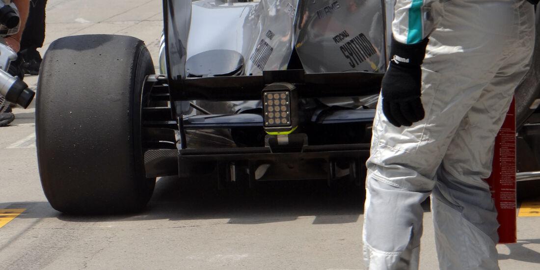 Mercedes Heck - Formel 1 - GP China - 12. April 2013