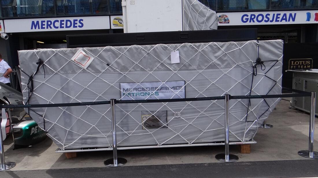 Mercedes - Impressionen - GP Australien - 14. März 2012
