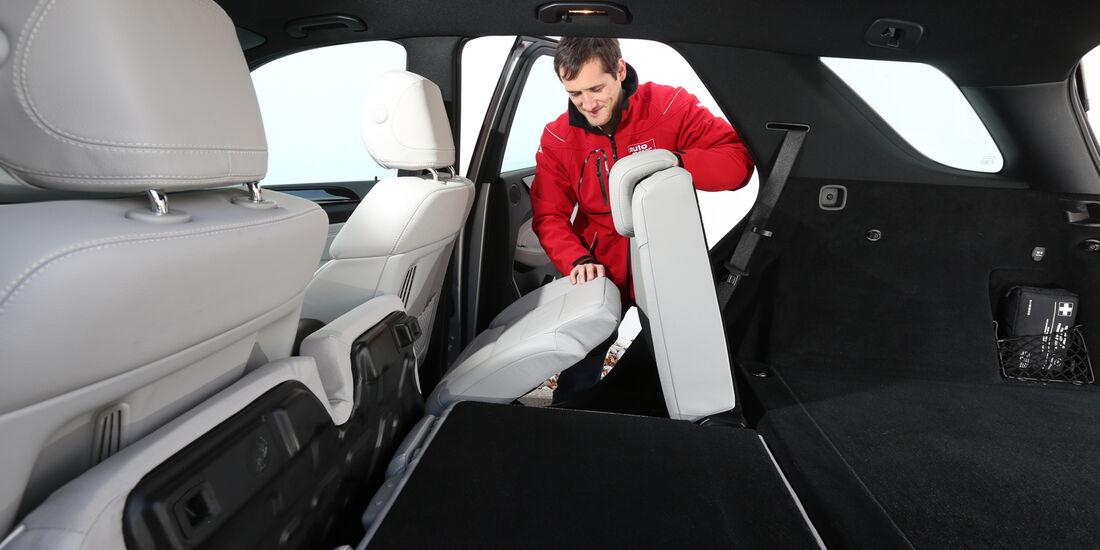 Mercedes ML 350 Bluetec, Fondistz, Umklappen