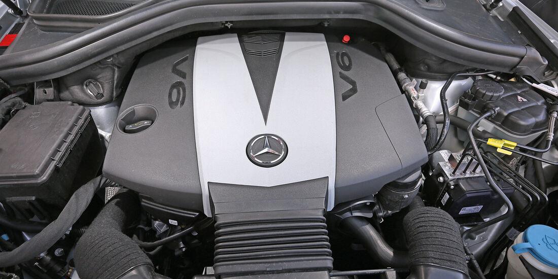 Mercedes ML 350 Bluetec, Motor
