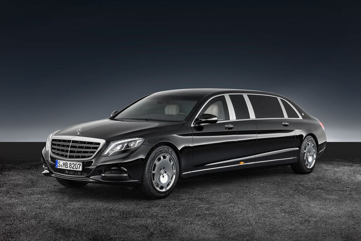 Mercedes-Maybach S600 Pullmann Guard