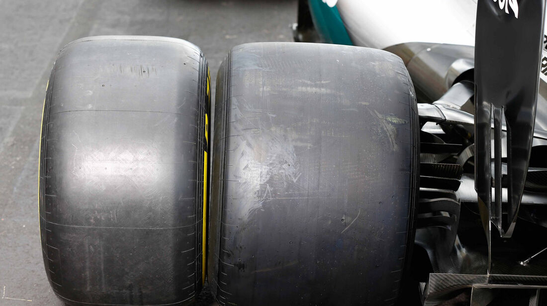 Mercedes - Pirelli 2017 Reifen-Test - Paul Ricard - 2016