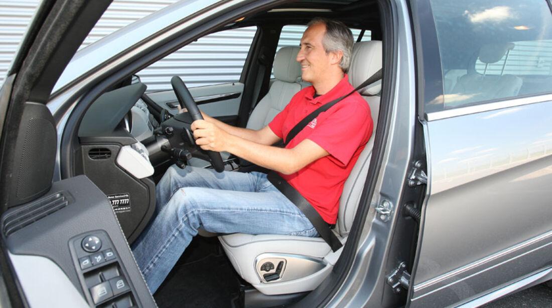 Mercedes R 350 CDI 4Matic, Fahrersitz
