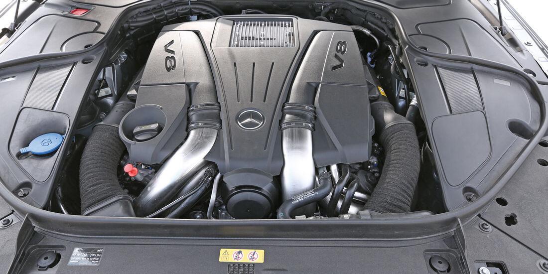 Mercedes S 500 L, Motor
