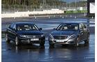 Mercedes S 500 L,  VW Phaeton, Frontansicht