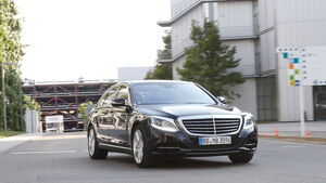 Mercedes S 500 Plug-in-Hybrid, Frontansicht