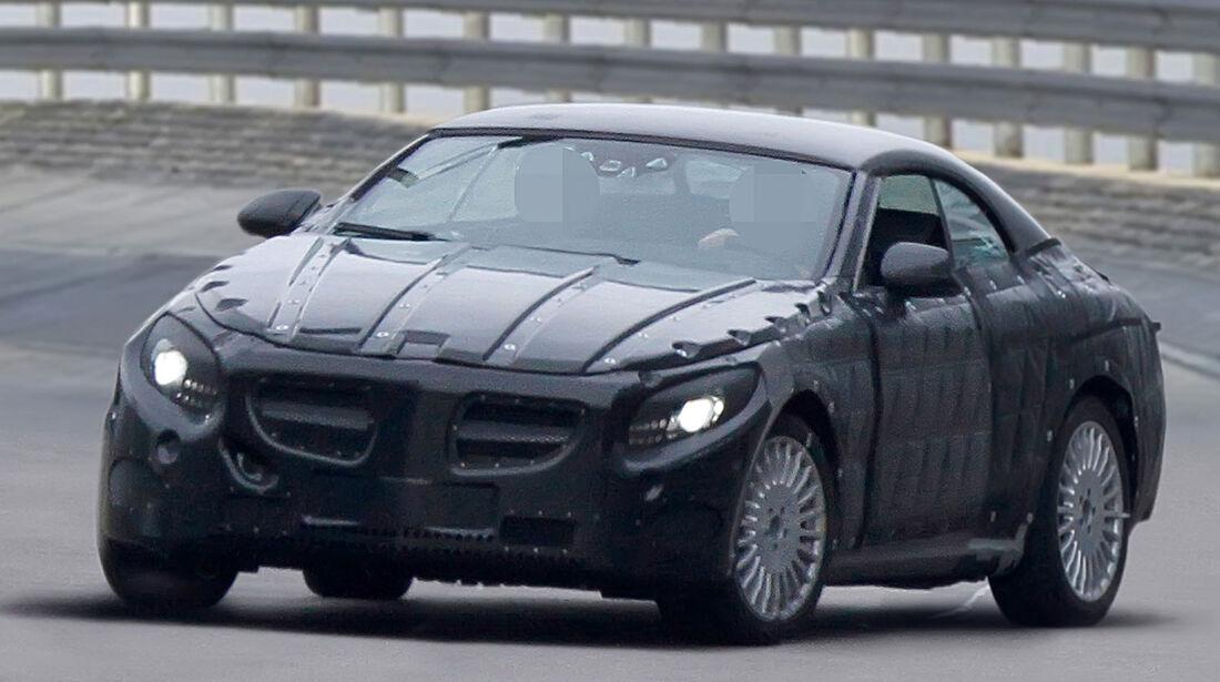 Mercedes S-Klasse Cabrio Erlkönig