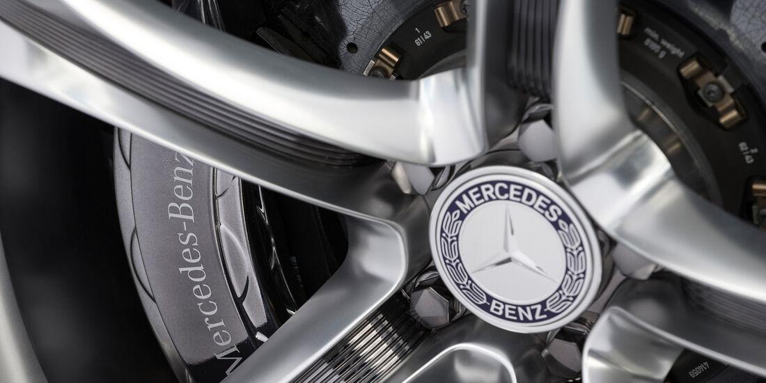 Mercedes S-Klasse Coupé Concept, Felge