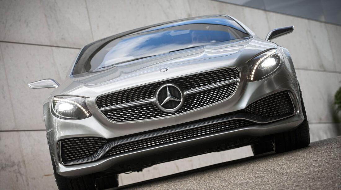 Mercedes S-Klasse Coupé Concept, Frontansicht