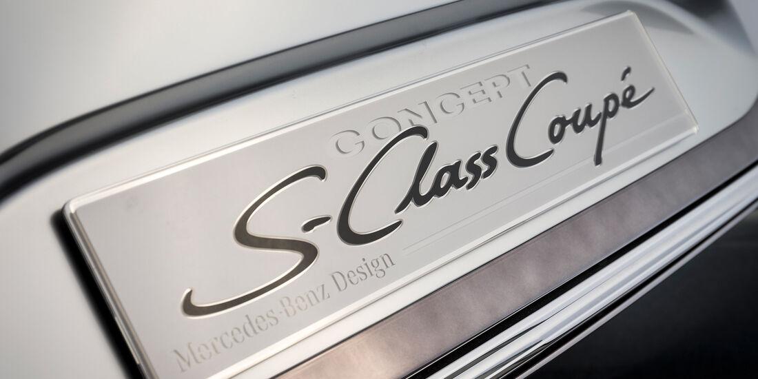 Mercedes S-Klasse Coupé Concept, Fußleiste