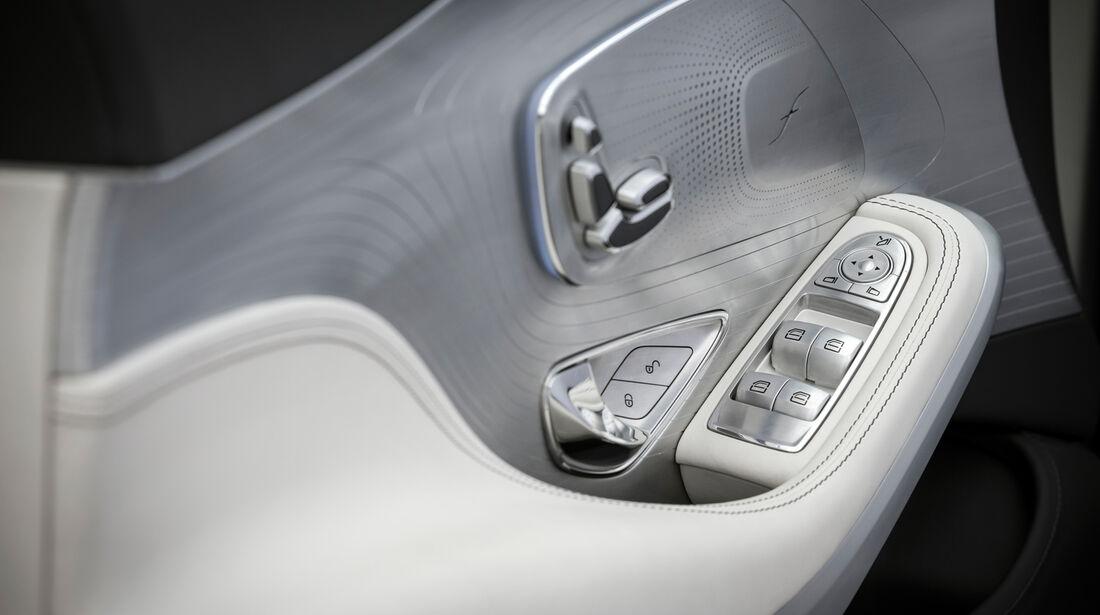 Mercedes S-Klasse Coupé Concept, Sitzeinstellung