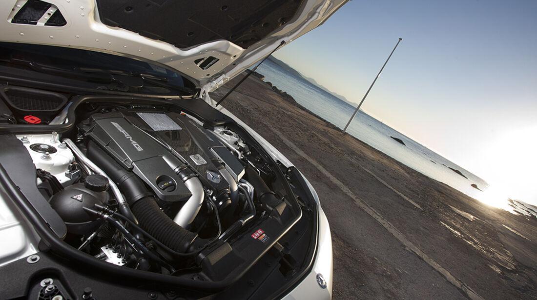 Mercedes SL 63 AMG, Motor