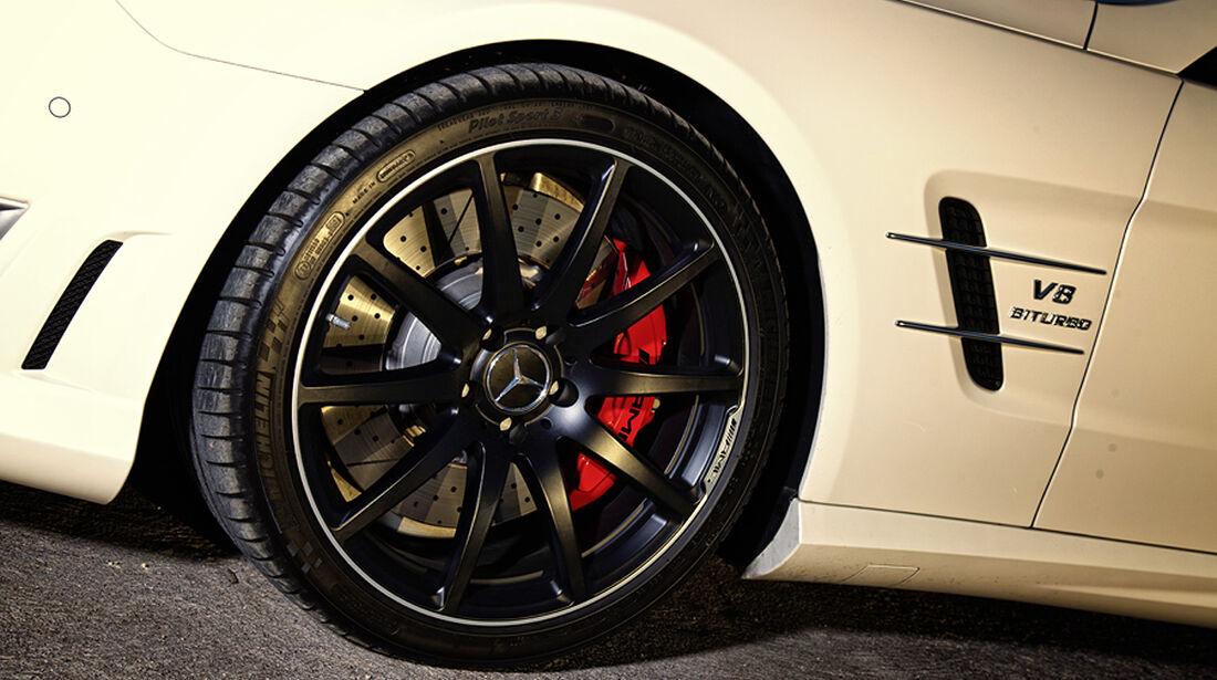 Mercedes SL 63 AMG, Räder, Bremse