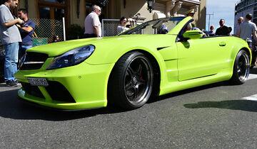 Mercedes SL 65 - Carspotting - GP Monaco 2016