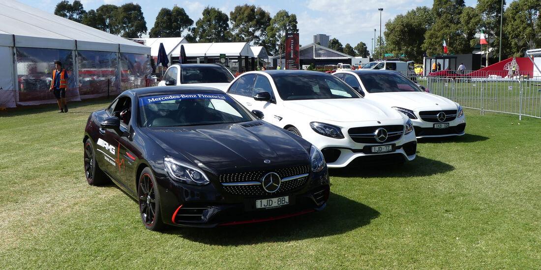 Mercedes SLC 43 - GP Australien 2018 - Melbourne - Albert Park - Mittwoch - 21.3.2018