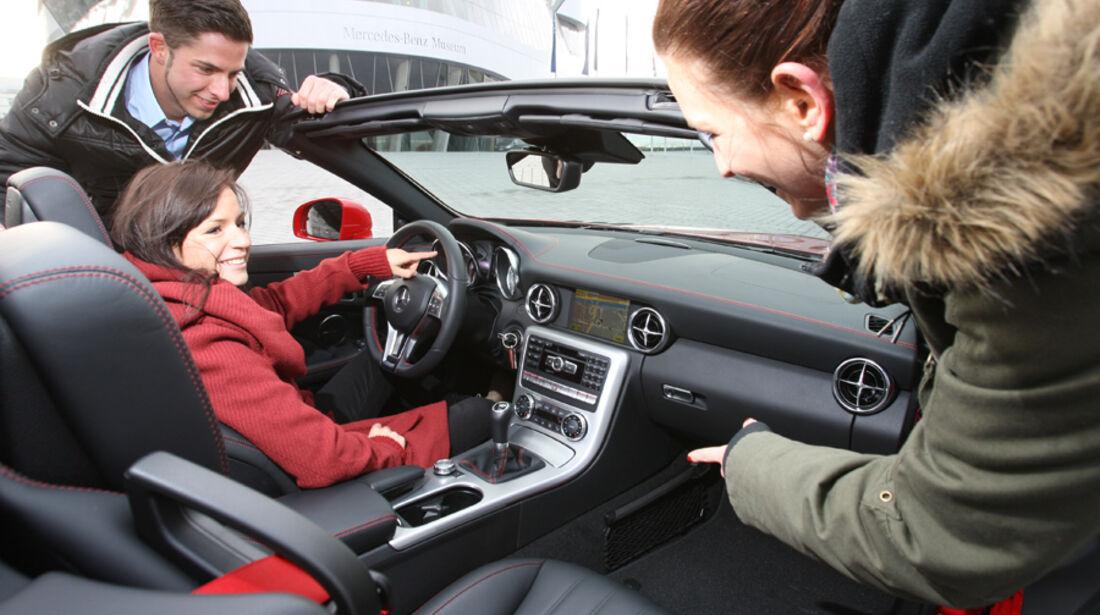 Mercedes SLK 250, Innenraum