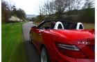 Mercedes SLK BlueEFFICIENCY, Rückansicht, Ausfahrt