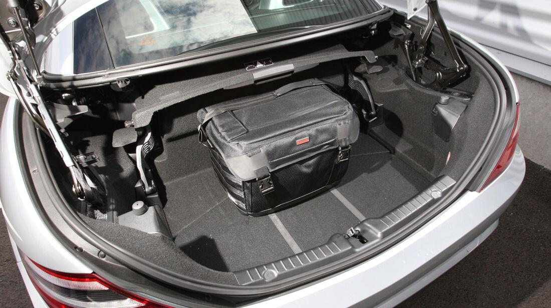 Mercedes SLK, Kofferraum
