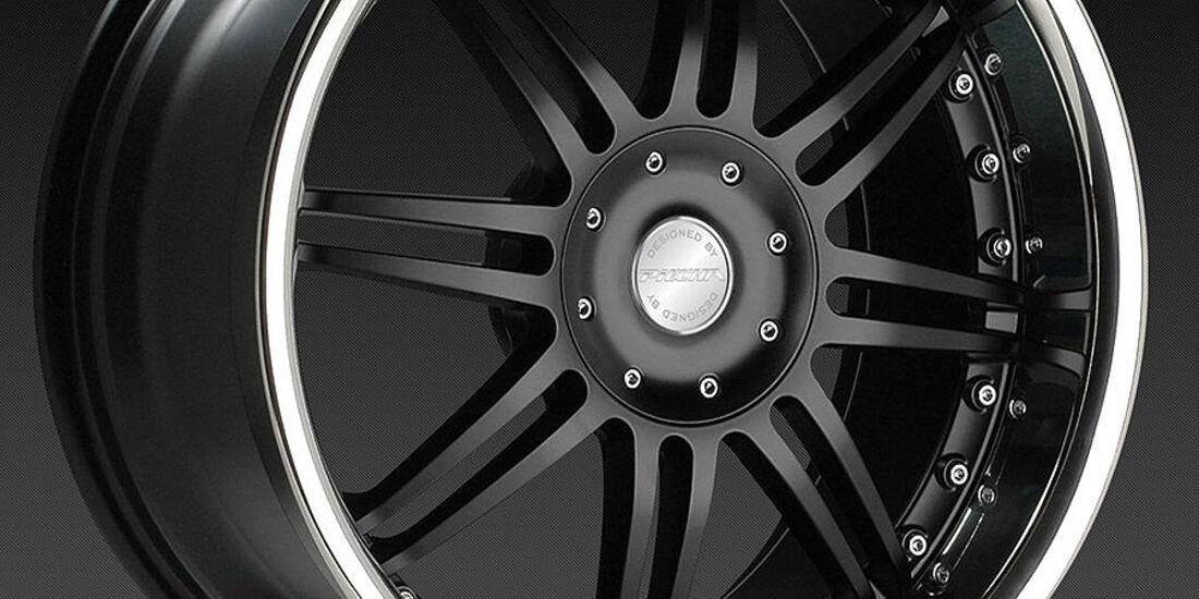 Mercedes SLK R172 Accurian RS, Felge Phantomschwarz