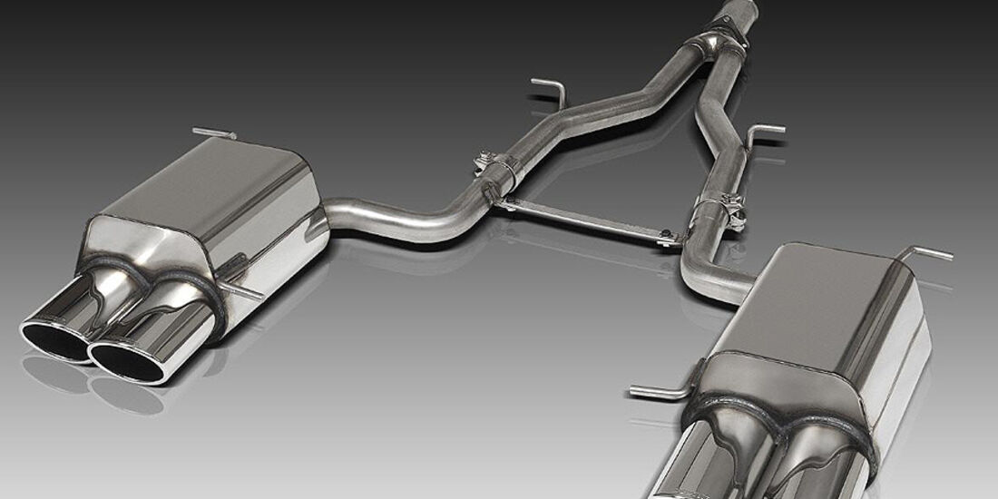 Mercedes SLK R172 Accurian RS, Quadrauspuff