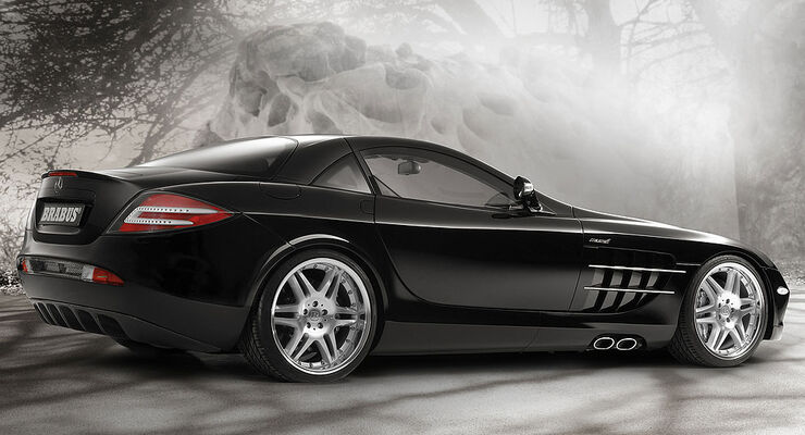 Mercedes SLR McLaren von Brabus