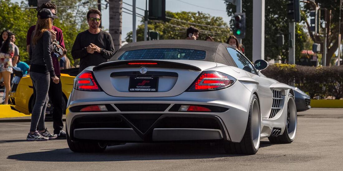 Mercedes SLR - Supercar Show - Lamborghini Newport Beach