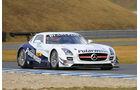 Mercedes SLS AMG GT3, HEICO Motorsport, Frontansicht