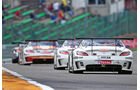 Mercedes SLS AMG GT3, Heck, Rennen