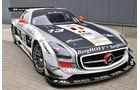 Mercedes SLS AMG GT3, KRK-Racing, Frontansicht