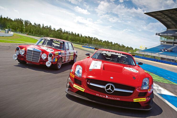 Mercedes SLS AMG GT3, Mercedes 300 SEL 6.8 AMG