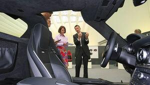 Mercedes SLS AMG Interieur