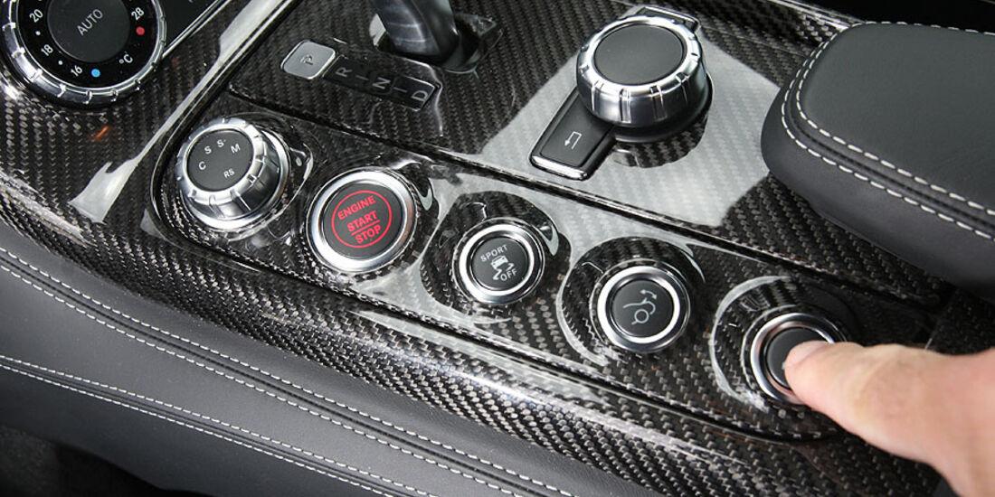 Mercedes SLS, Fahrprogramme