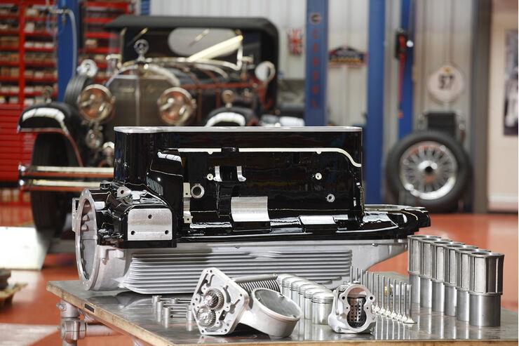 Mercedes SSK-Neubau Projekt