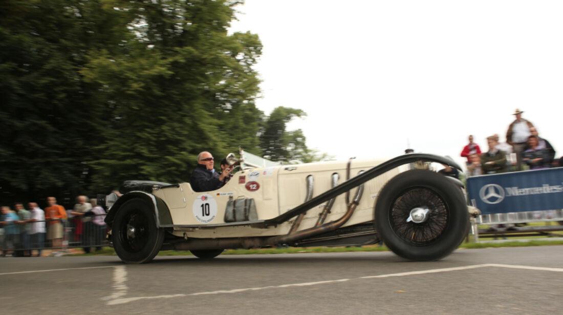 Mercedes SSK bei den Classic Days 2010