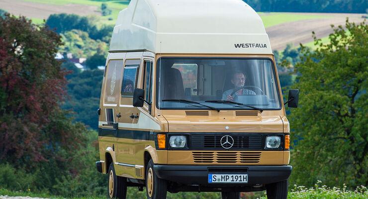 Mercedes 209 D T1 Marco Polo Zeitreise Mit Stern Auto Motor Und Sport