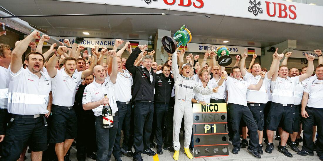 Mercedes-Team, Shanghai, Nico Rosberg