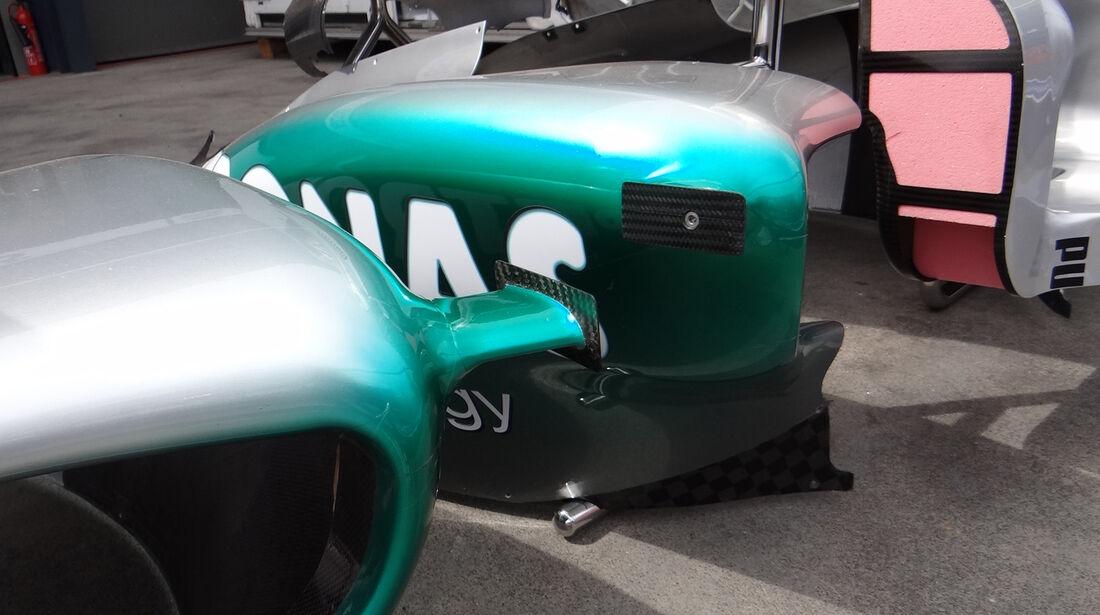 Mercedes - Technik - GP Australien - 14. März 2012