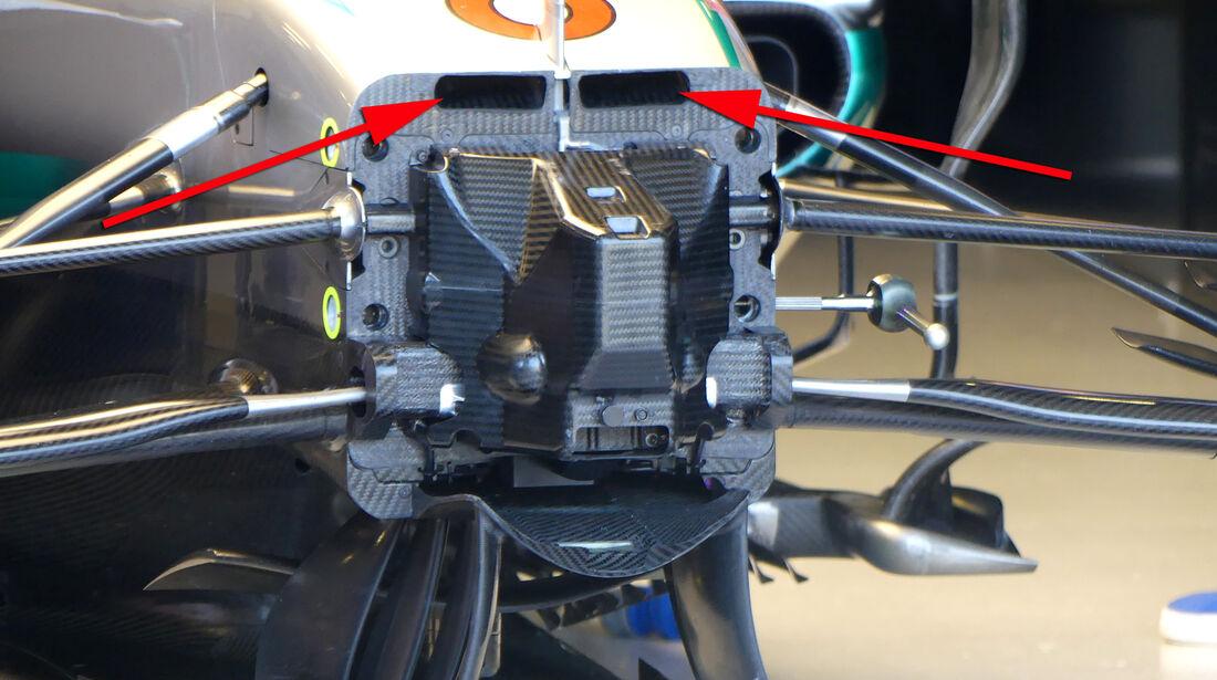 Mercedes - Technik - GP Australien 2016