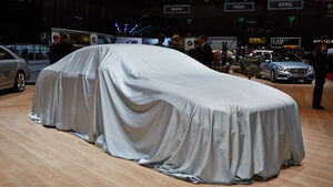 Mercedes Tuch, Genfer Autosalon, Messe, 2014, Genfer Autosalon, Messe, 2014