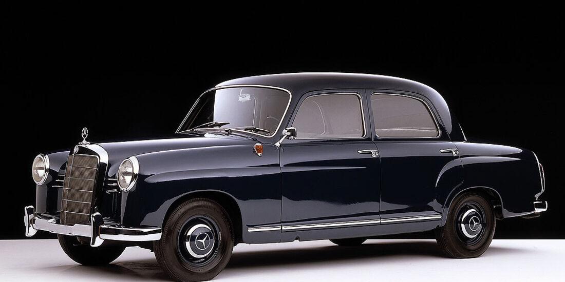 Mercedes Typ 180 Ponton, 1953