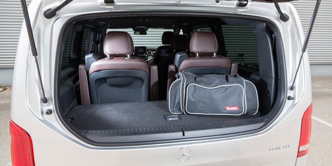 Mercedes V 250 Bluetec, Kofferraum