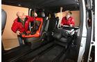 Mercedes V 250 Bluetec, Sitze, Abmessungen
