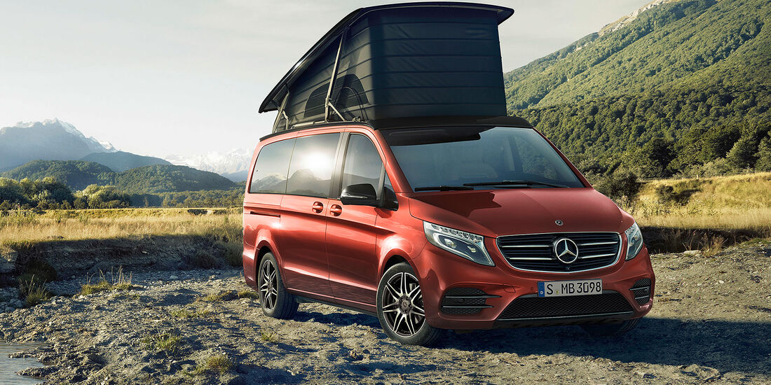 Mercedes V-Klasse Marco Polo Horizon Limited Edition hyazinthrot