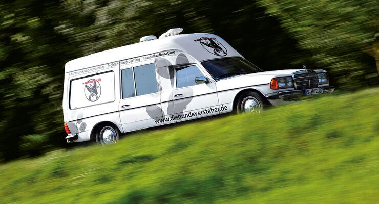 Mercedes VF123 E28 Binz KTW, Seitenansicht