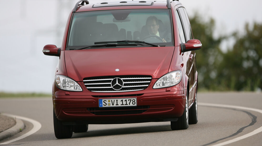 Mercedes Viano 2.2 CDI, Frontansicht