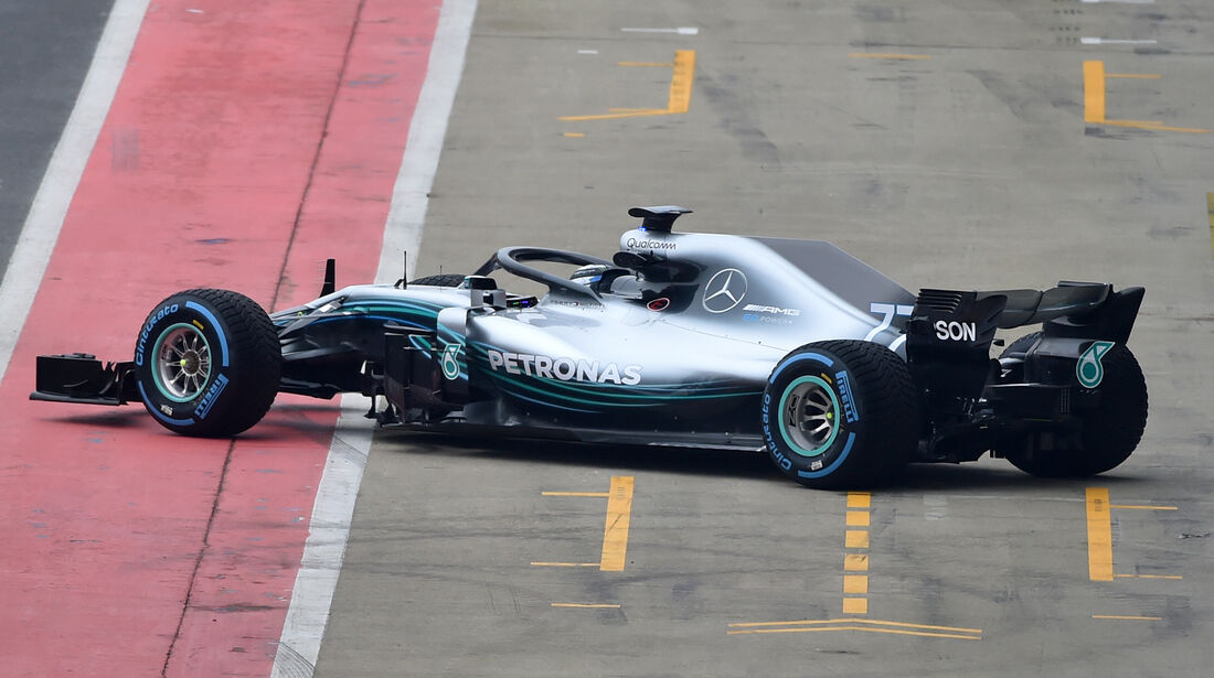 Mercedes W09 - F1-Auto 2018