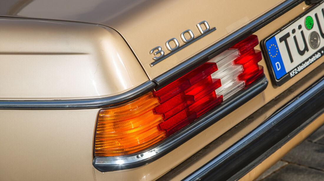 Mercedes W123, Heckleuchte