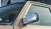 Mercedes W123, Seitenspiegel
